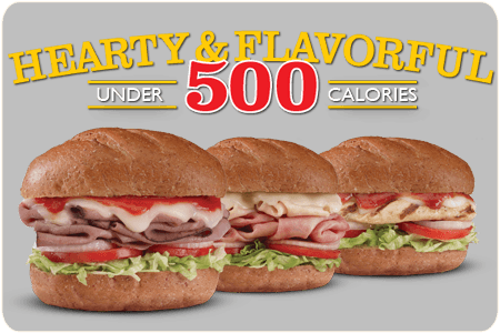 Firehouse Subs New Hearty & Flavorful Menu - Under 500 Calories