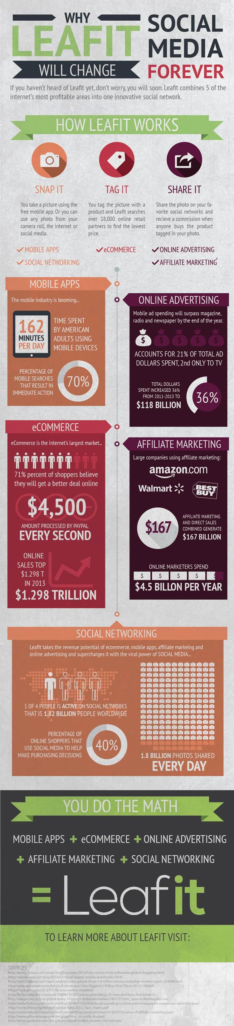 Leafit Infographic